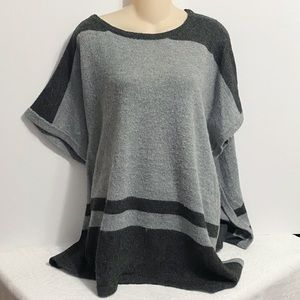 Vince Camuto Shaw XS/S Colorblock Gray Black